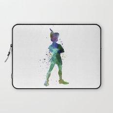 Peter Pan in watercolor Laptop Sleeve