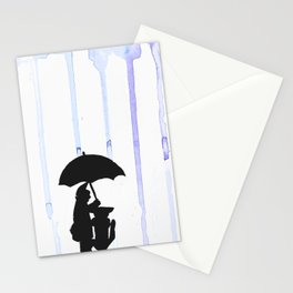 It's (Not) Raining Cats And Dogs Stationery Cards