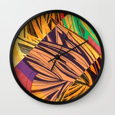 Mad Butterfly Wall Clock