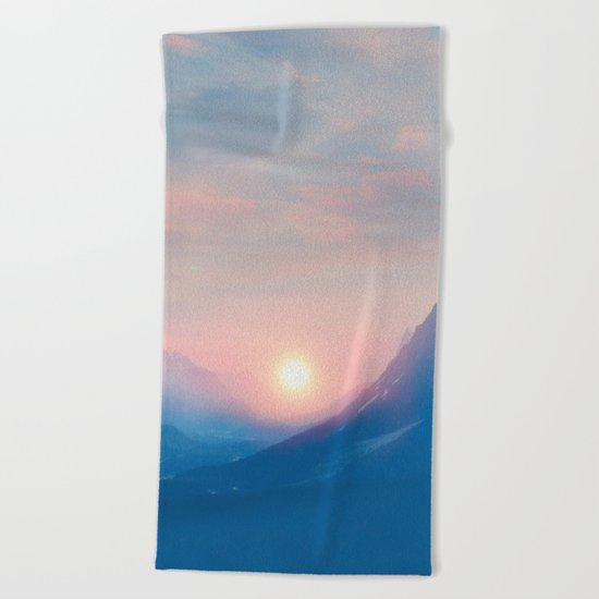 Pastel vibes 08 Beach Towel