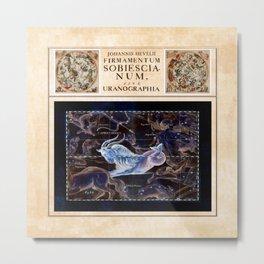Hevelius Capricorn Metal Print