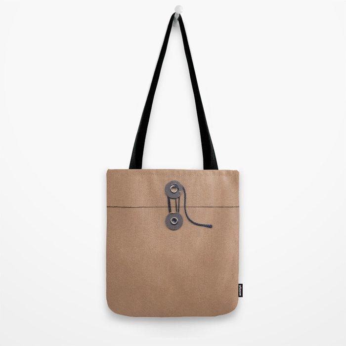 Camo Series - kraft envelope Tote Bag