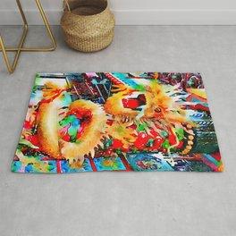 Jumbo Dragon Rug