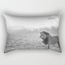 King Of The Plains Rectangular Pillow