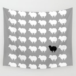 Black sheep Wall Tapestry