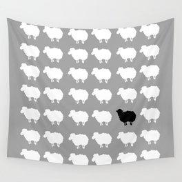 Black sheep Wall Tapestry