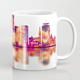 Cardiff Wales Skyline Coffee Mug
