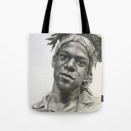 Jean-Michel Basquait Tote Bag