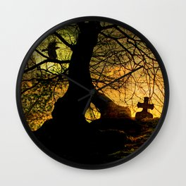A mysterious place Wall Clock