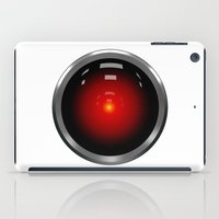 2001 a space odyssey iPad Cases featuring hal 9000 Space Odyssey by Komrod