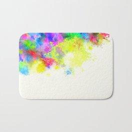 Paint Splashes Bath Mat