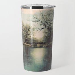 Cache la Poudre River Fort Collins Colorado Color Photo Travel Mug