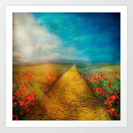 My Yellow Brick Road Art Print