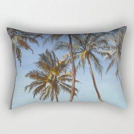 "Walter Crane ""Under the palms at the Galle Face, Ceylon"" Rectangular Pillow"
