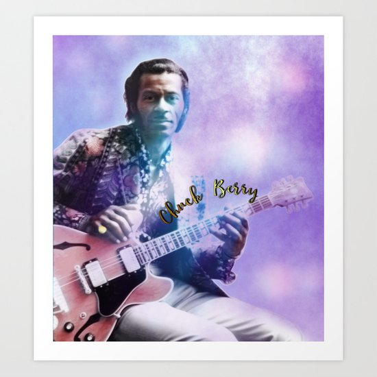 Father of Rock and Roll Art Print