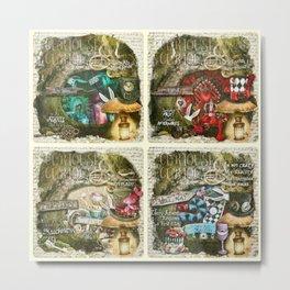 Alice of Wonderland Series Metal Print