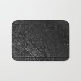 Black Marble Texture G310 Bath Mat