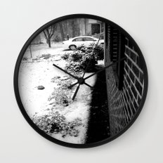 Winter Wonder Wall Clock