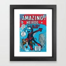 Amazing Wierdo Framed Art Print