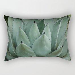 Black Tip Cactus Rectangular Pillow