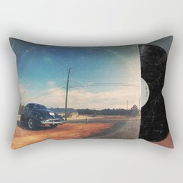 Roadside Classic - America As Vintage Album Art Rectangular Pillow