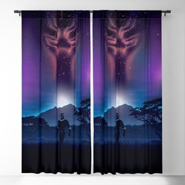 Black Panther Heaven Blackout Curtain