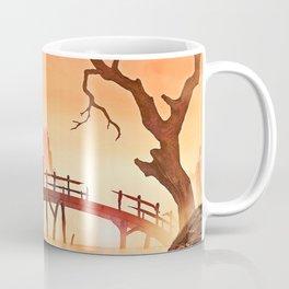 Samurai Scene, Bushido Ronin Coffee Mug