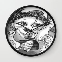 Limerick #1 Wall Clock