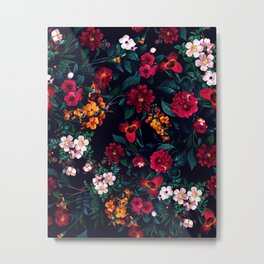 The Midnight Garden Metal Print