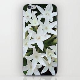 White Verbena iPhone Skin