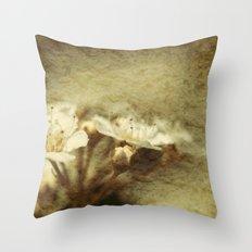 Spiraea Flowers Throw Pillow
