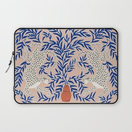 Leopard Vase Laptop Sleeve