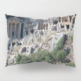 Carved Rock Tombs at Dalyan Pillow Sham