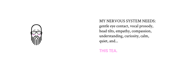 Tea & Nervous System Needs Coffee Mug