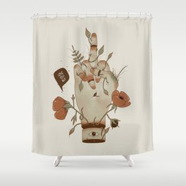 Love you but... Shower Curtain