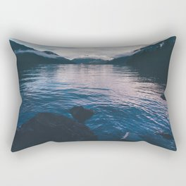 Lake in the Sky II Rectangular Pillow
