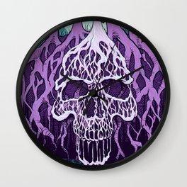 Swamp Skull Wall Clock