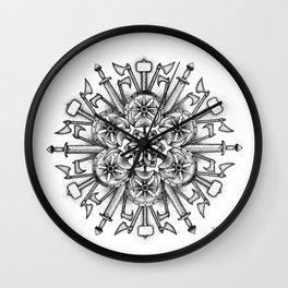Valhalla Rising Wall Clock