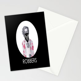 Robbers Stationery Cards