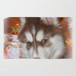 Husky Eyes Rug