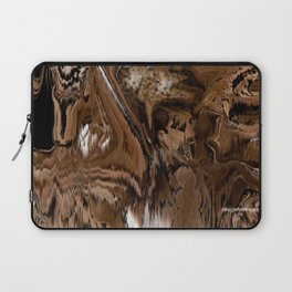 Pioneers Crossed The Harsh stoney and sandy of the desert of California Laptop Sleeve
