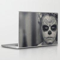 dia de los muertos Laptop & iPad Skins featuring Dia de los muertos by Brandy Coleman Ford