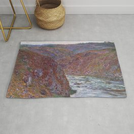 Valley of the Creuse (Gray Day) Rug