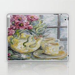 Morning Tea for Two Laptop & iPad Skin