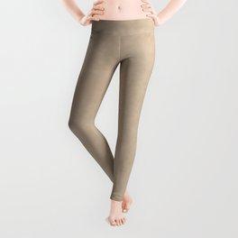 Pantone Hazelnut, Liquid Hues, Abstract Fluid Art Design Leggings