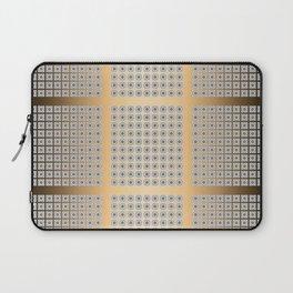 Traditional Japanese patter GOBANKOSHI GOLD Laptop Sleeve