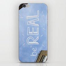 be REAL iPhone & iPod Skin