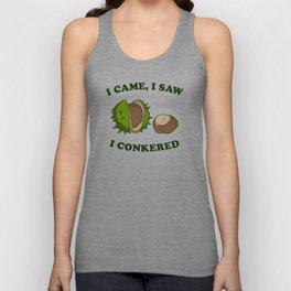 I Came I Saw I Conkered Unisex Tank Top