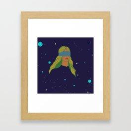 BLIND SPACE Framed Art Print