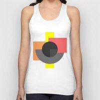 minimalist Tank Tops featuring Minimalist by Akehworks